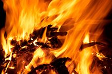 Free Fire And Flames Stock Photo - 5519670