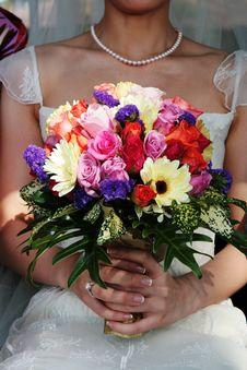 Free Wedding Bouquet Stock Image - 5519711