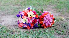 Free Wedding Bouquet Royalty Free Stock Images - 5519809
