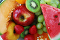 Free Colorful Fresh Group Of Fruits Stock Images - 5520814