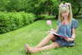 Free Beauty Girl With Book Stock Photos - 5521263