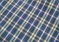 Free Checkered Fabric Close Up. Royalty Free Stock Photography - 5524317