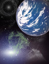 Free Planet In A Space. Royalty Free Stock Images - 5525999
