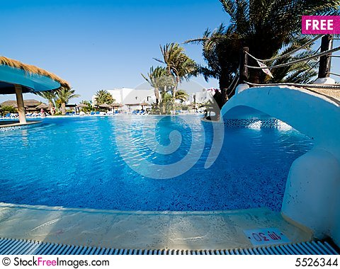 Big Hotel Swimming Pool Free Stock Images Photos 5526344