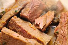 Free Stewed Tuna Fillets Royalty Free Stock Photography - 5520557