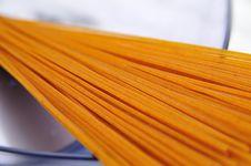 Free Bran Spaghetti Royalty Free Stock Photos - 5520618
