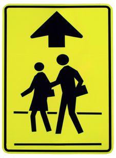 Caution Sign. Royalty Free Stock Photos