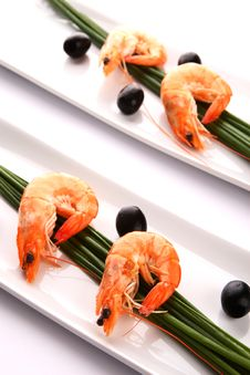 Free Shrimp Royalty Free Stock Photos - 5521428