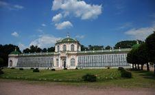 Free Kuskovo. The Stone Greenhouse Royalty Free Stock Images - 5521529