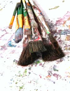 Free Brush Royalty Free Stock Photos - 5521538