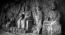Free The Joss Of Longmen In China Stock Images - 5522384