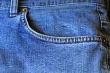 Free Jean Pocket Stock Images - 5522604