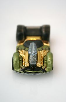 Toy Race Car Royalty Free Stock Photography