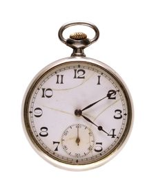 Free Old Pocket Watch Royalty Free Stock Image - 5523276