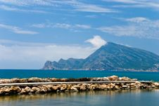 Free Sea And Mountains In Altea, Spain Stock Photo - 5523930