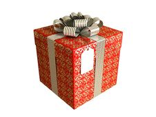 Free Wrapped Gift Red Stock Images - 5524914
