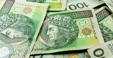Free Polish Money Background Stock Photo - 5524920