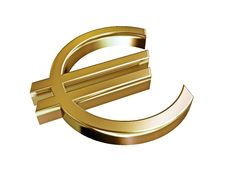 Free Euro Gold Stock Photography - 5525752