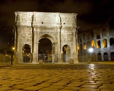 Free Constantine S Arch Stock Images - 5525964