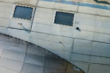 Free Abandoned Aircraft (Details) Royalty Free Stock Image - 5526766