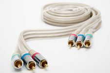 Free Component Video Cable Stock Photography - 5526842