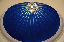 Free Round Blue Cupola Ceiling Stock Images - 5527314