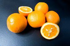 Free Six Orange Fruits Stock Photos - 5527363