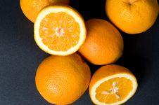Free Six Orange Fruits Royalty Free Stock Image - 5527426