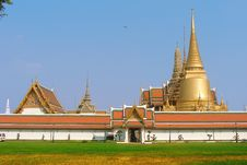 Free Thailand Bangkok Royal Temple & Palace Stock Photography - 5527882