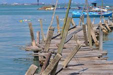 Free Wooden Stilt Series Stock Image - 5528321