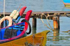 Free Fishing Boats Royalty Free Stock Photos - 5528358