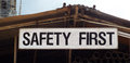 Free Safety Sign On Construction Site Royalty Free Stock Photo - 55277235