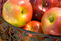 Free Red Apples In Basket Stock Image - 5531071