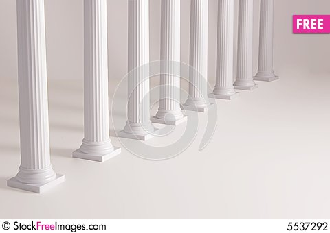 Free Columns For Product Background Stock Photography - 5537292