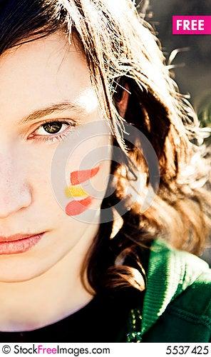 Free Sport Fan Royalty Free Stock Photo - 5537425