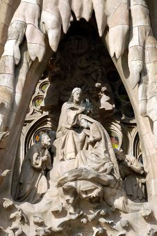 Free La Sagrada Familia - Nativity Royalty Free Stock Photos - 5530588