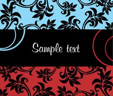 Free Abstract Floral Background. Royalty Free Stock Images - 5530999