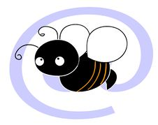 Free E-mail To... Little Bee Stock Images - 5531564