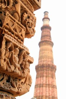 Muslim Column Stock Image