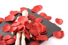 Room Of Romantic Stock Photography