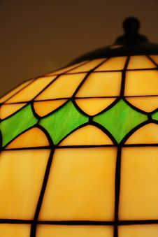 Free Stained Glass Lamp Close-up Stock Photo - 5532530