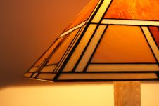 Free Stained Glass Lamp Close-up Royalty Free Stock Photography - 5532537