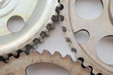 Free Cogwheels On White Stock Photo - 5532660