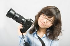 Free Miss Photographer Stock Image - 5532871