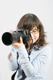 Free Miss Photographer Royalty Free Stock Images - 5532879