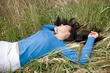 Free Relaxing Woman Stock Photo - 5533390