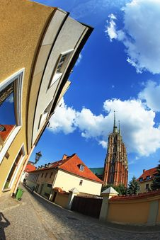 Free Monuments In Wroclaw, Poland Stock Image - 5533461