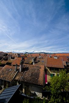 Free Over The Rooftops Stock Photography - 5533732