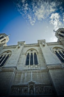 Free Church Perspective Stock Photography - 5533742