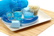 Free Blue Spa Stock Photography - 5533762